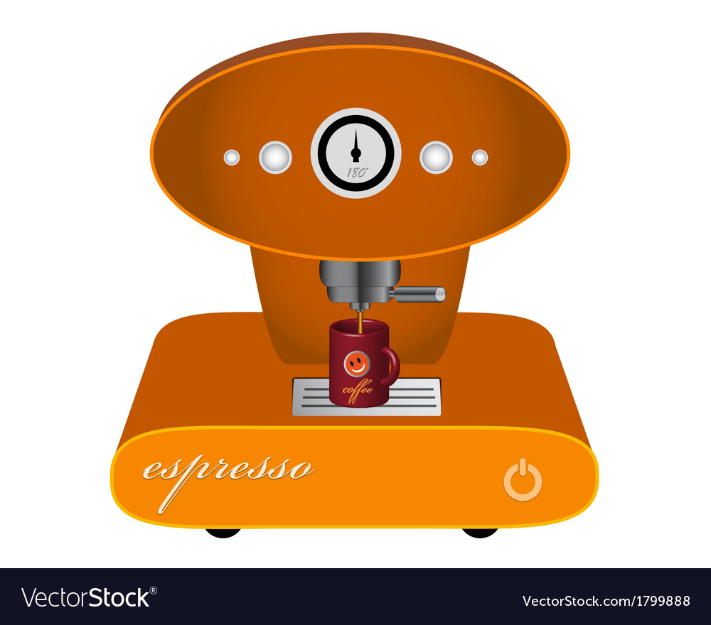 Machine for coffee vector | Price: 1 Credit (USD $1)