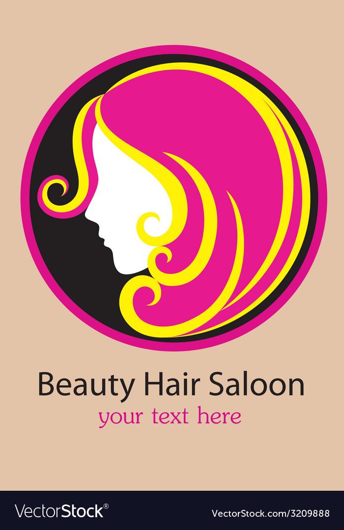 Saloon logo design vector | Price: 1 Credit (USD $1)