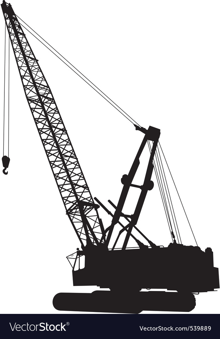 Construction crane vector | Price: 1 Credit (USD $1)