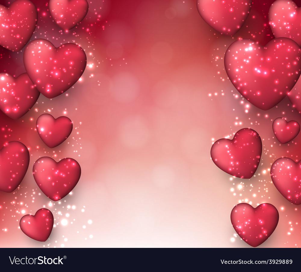 Valentines pink background vector | Price: 1 Credit (USD $1)
