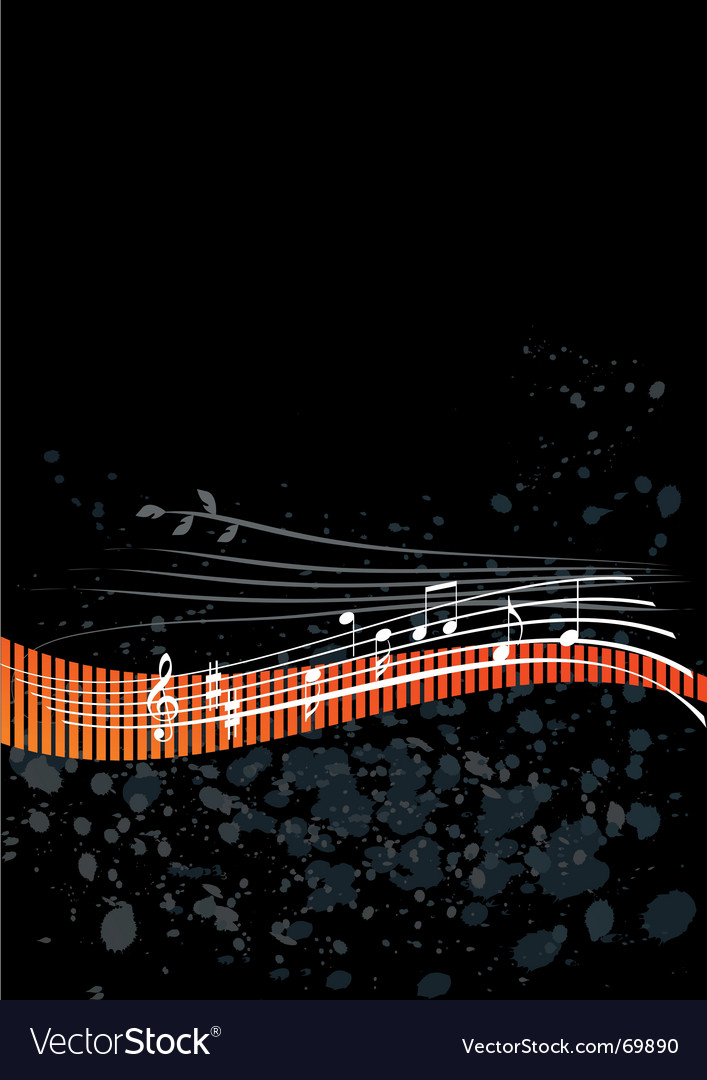 Abstract background music vector | Price: 1 Credit (USD $1)