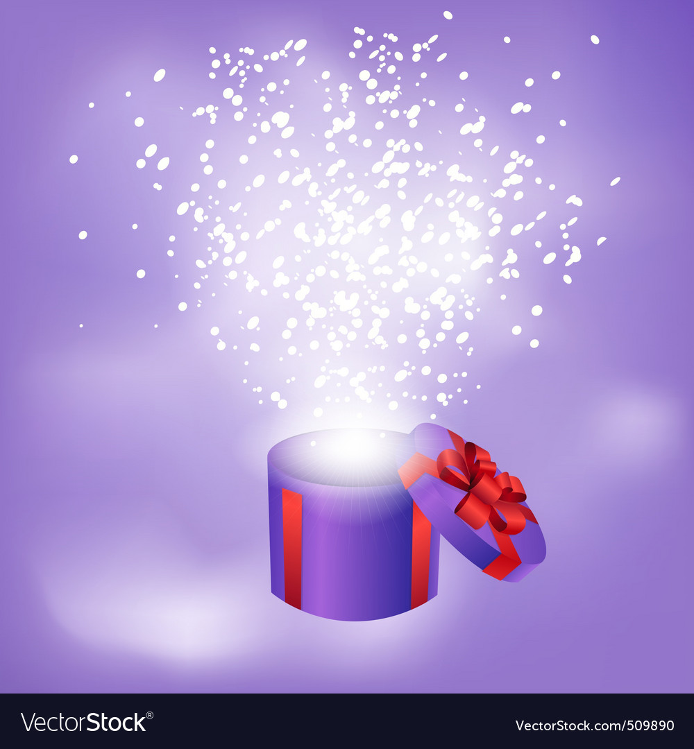 Gift box abstract background vector | Price: 1 Credit (USD $1)