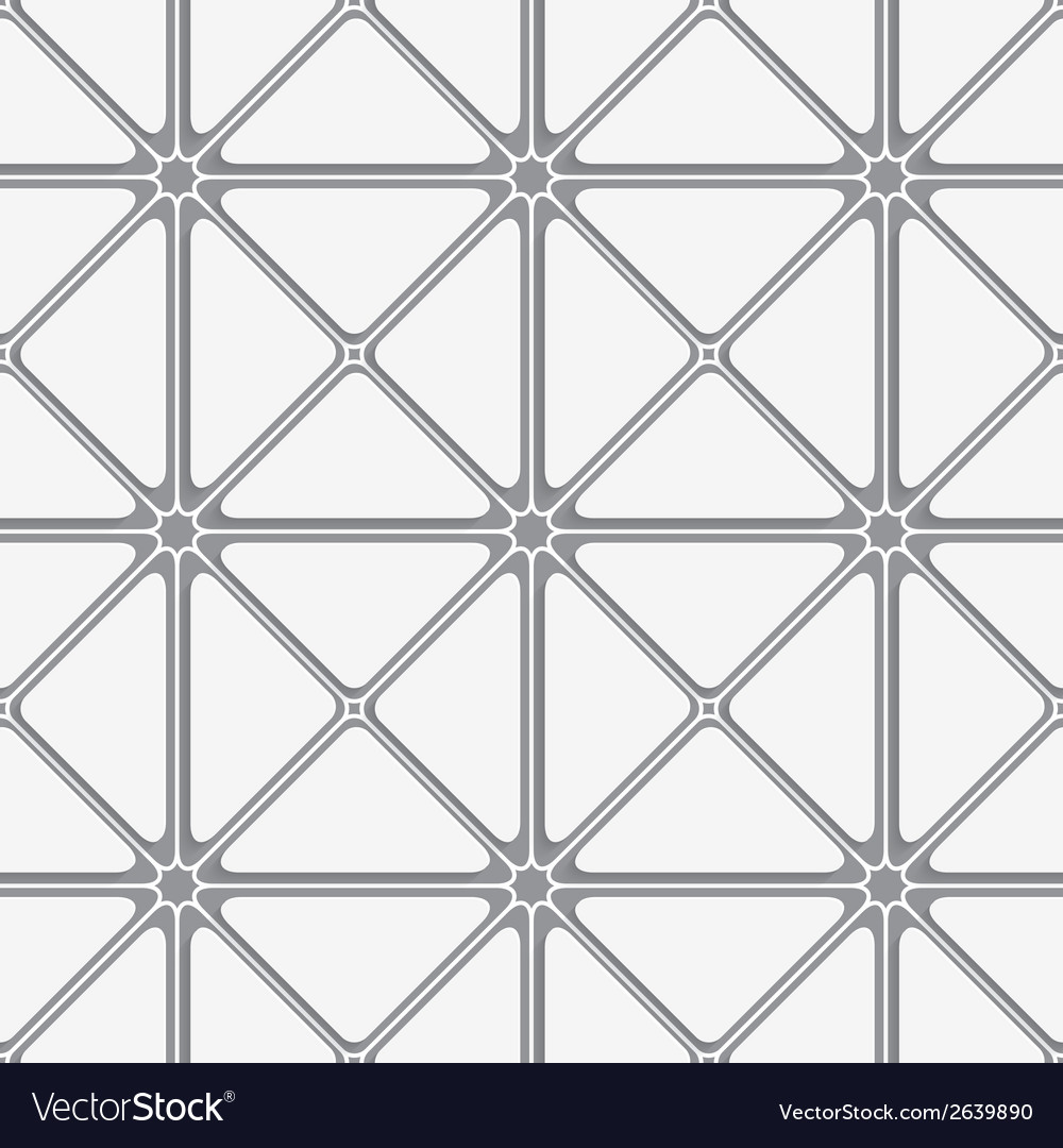 White triangular with shadow tile ornament vector | Price: 1 Credit (USD $1)