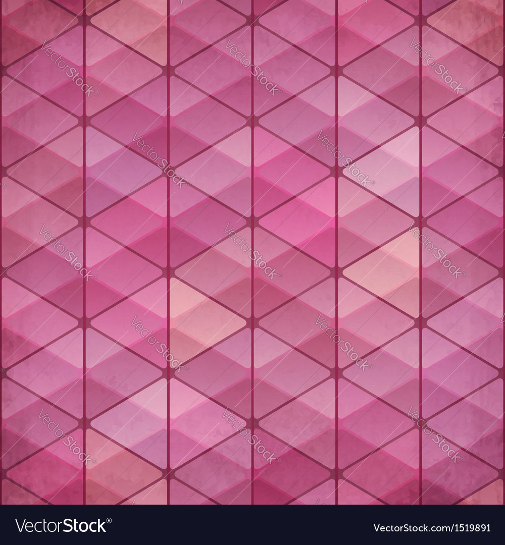Abstract triangles vintage pink background vector   Price: 1 Credit (USD $1)
