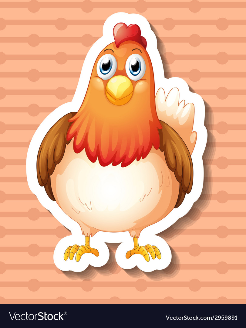 Chicken vector | Price: 1 Credit (USD $1)