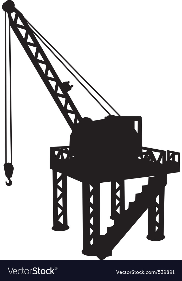 Construction platform vector | Price: 1 Credit (USD $1)