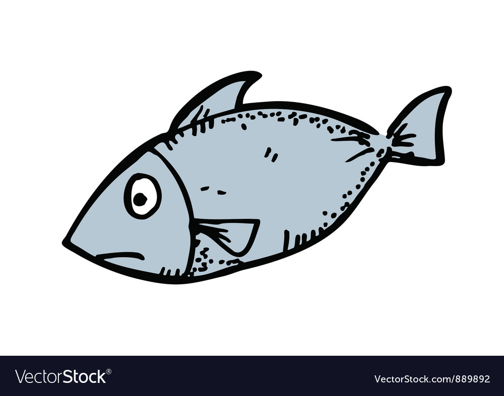 Cartoon fish vector | Price: 1 Credit (USD $1)