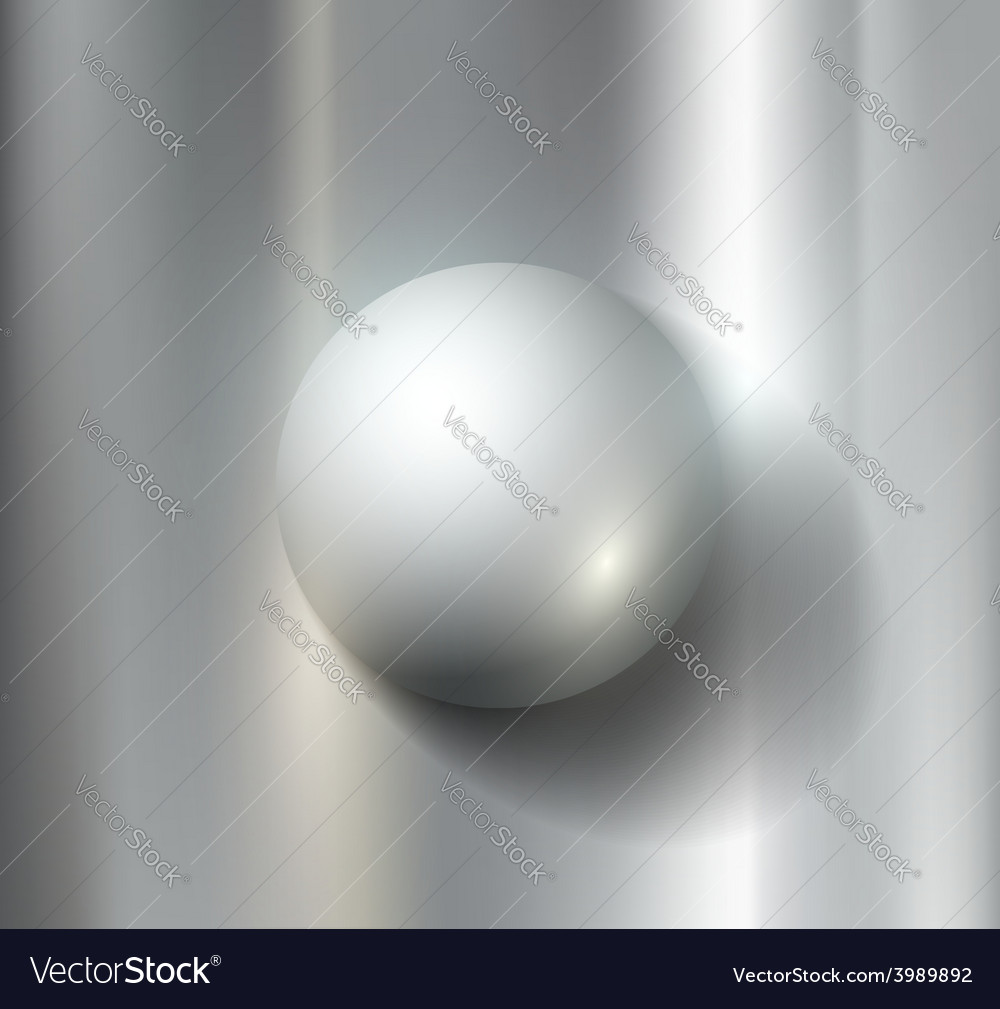 Metal ball vector | Price: 1 Credit (USD $1)