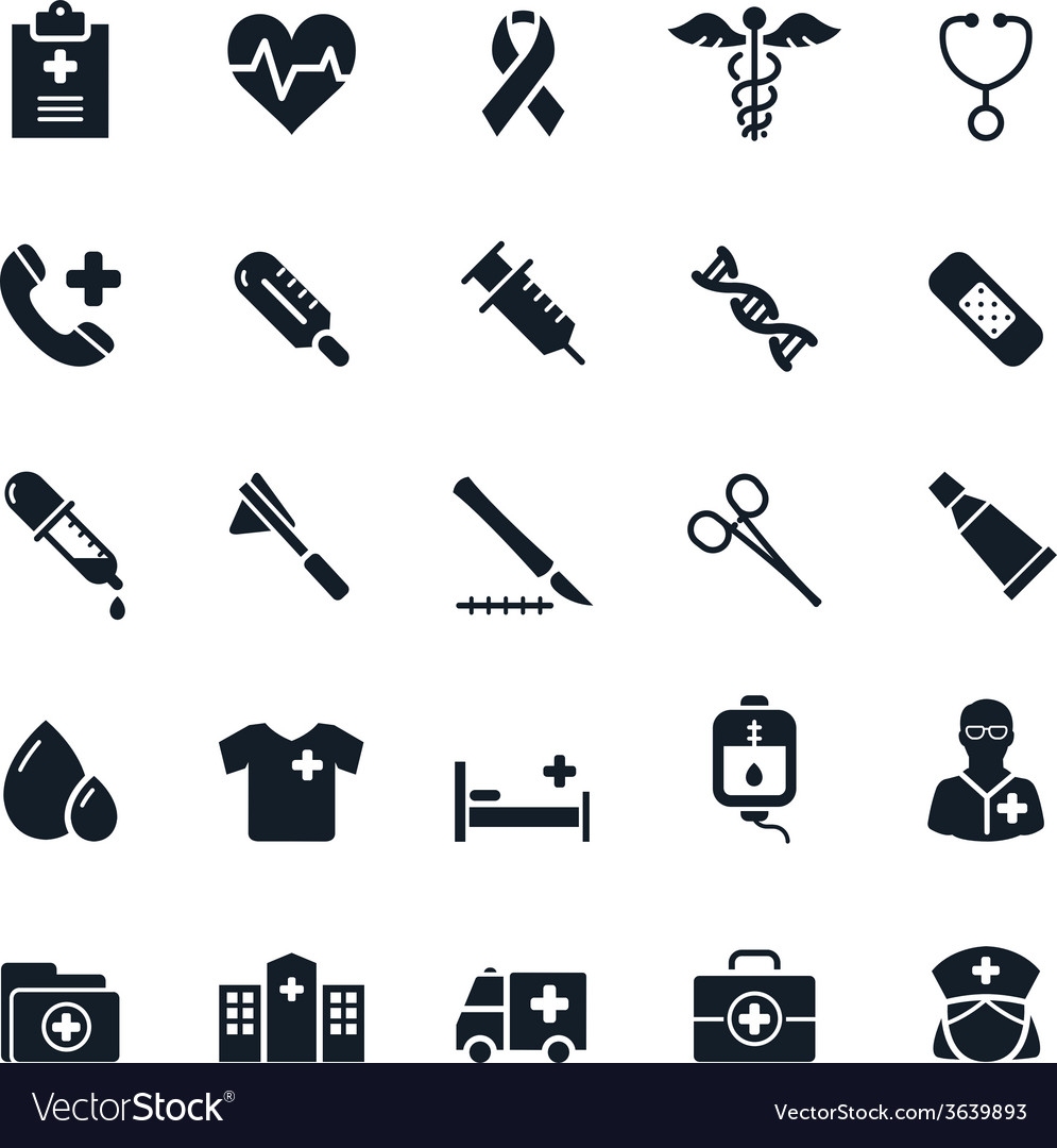 Medical and healthy icon vector | Price: 1 Credit (USD $1)