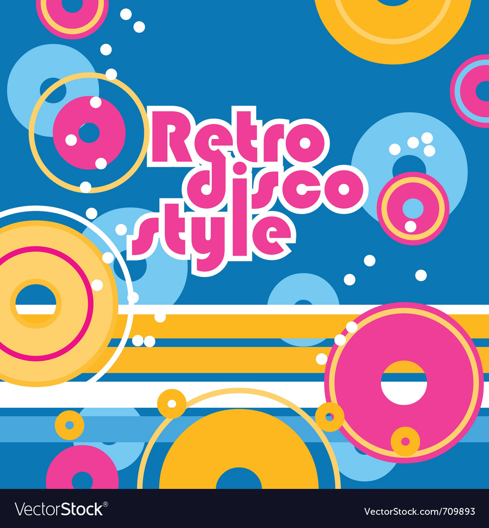 Retro style background vector | Price: 1 Credit (USD $1)