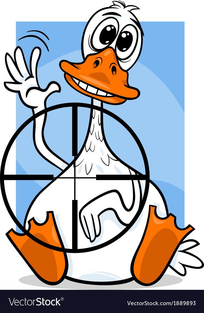 Sitting duck saying cartoon vector   Price: 1 Credit (USD $1)
