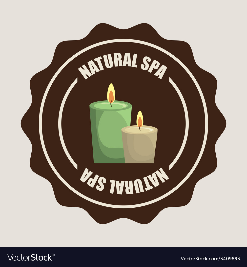 Spa center design vector | Price: 1 Credit (USD $1)