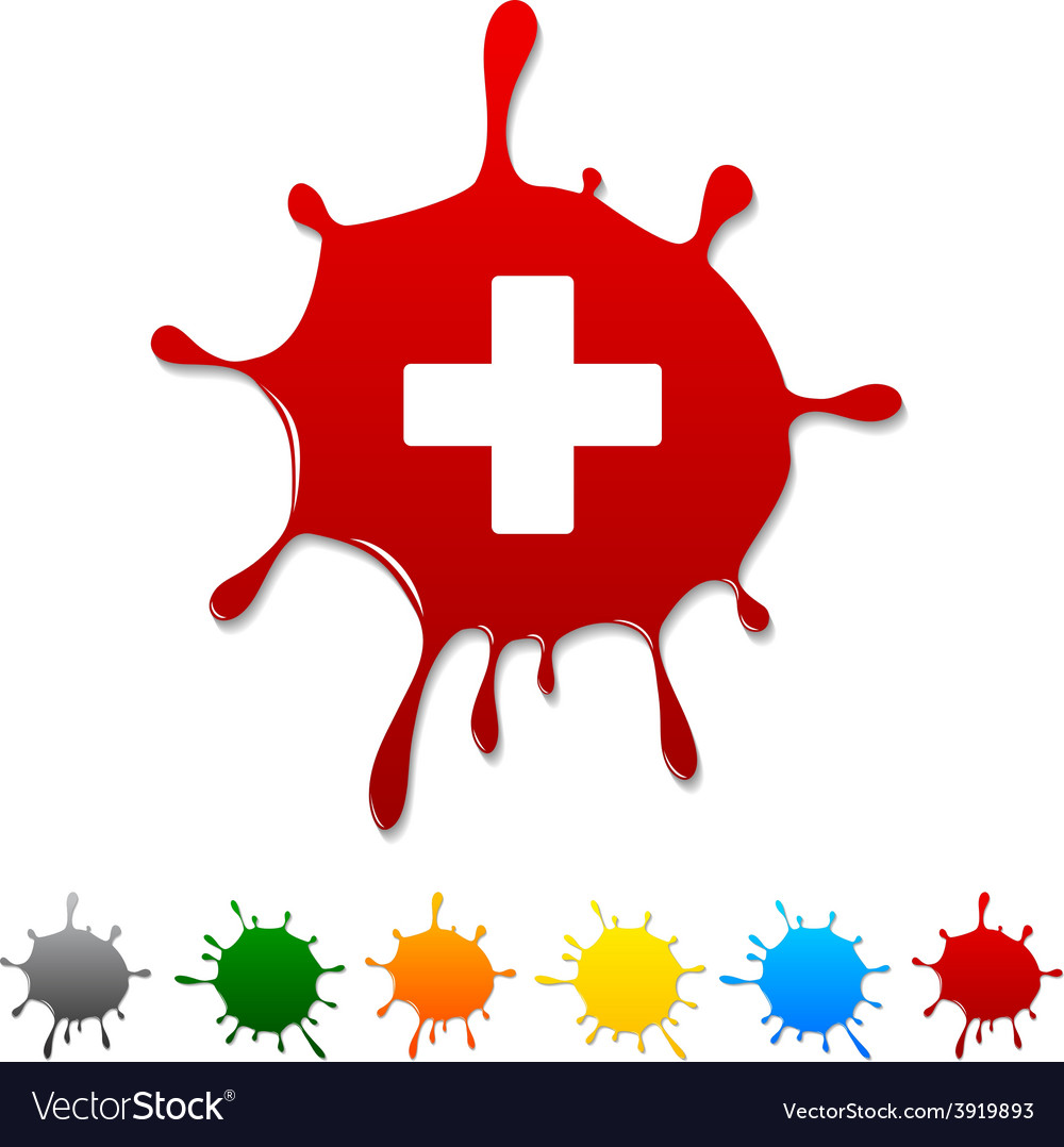 Switzerland blot vector | Price: 1 Credit (USD $1)