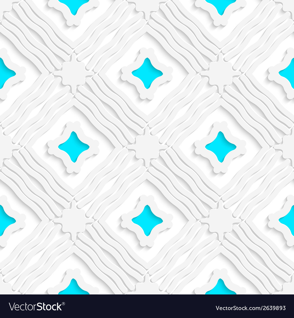 Wavy lines with blue seamless vector   Price: 1 Credit (USD $1)