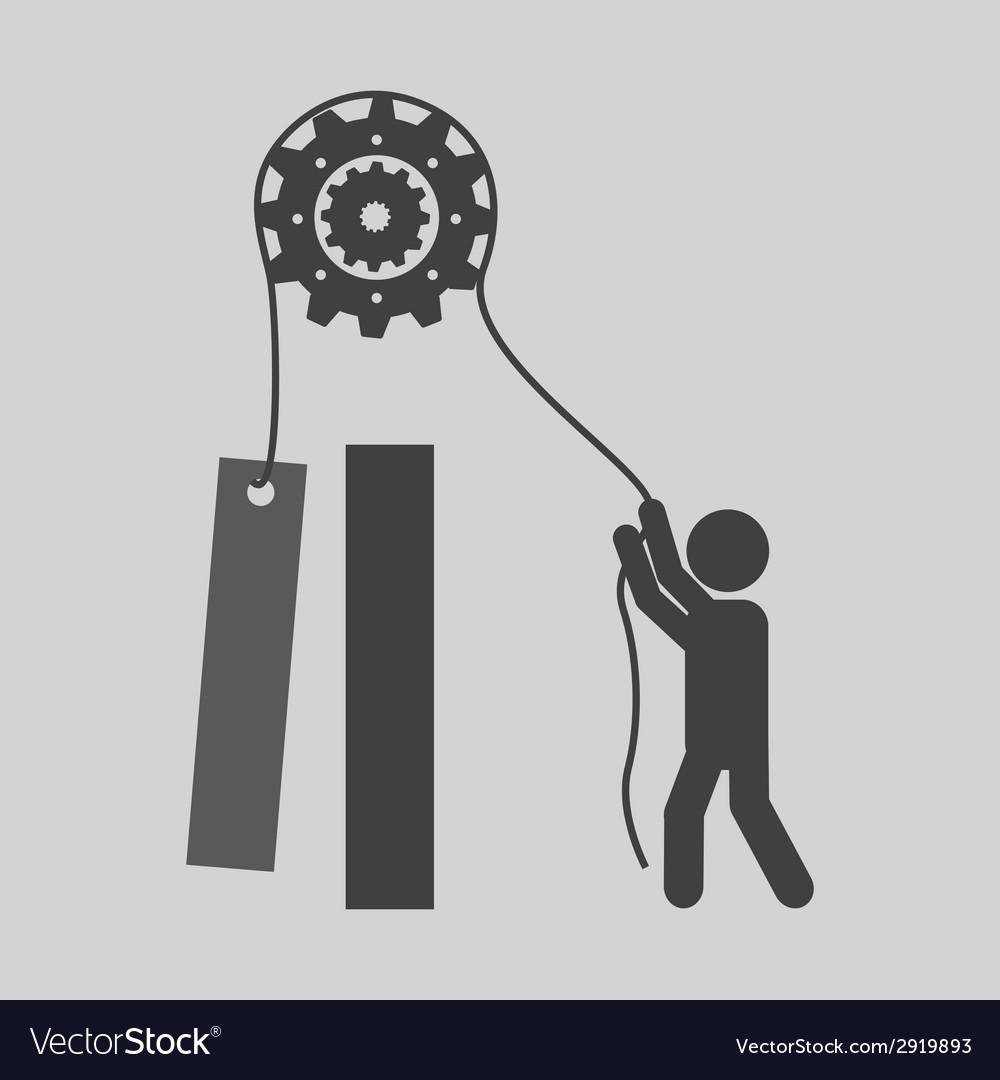 Worker design vector | Price: 1 Credit (USD $1)