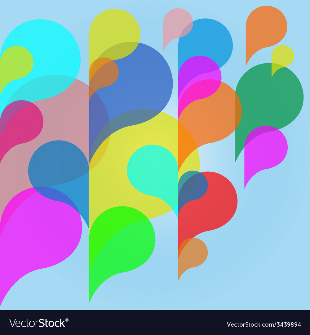 Abstract colorful background with bubbles vector | Price: 1 Credit (USD $1)