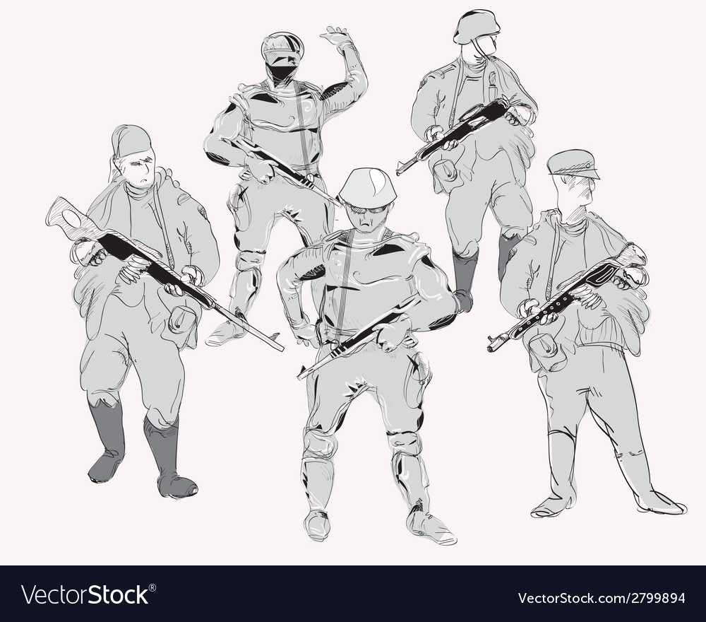 Gunmen vector   Price: 1 Credit (USD $1)
