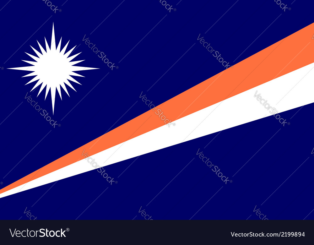 Marshall islands vector | Price: 1 Credit (USD $1)