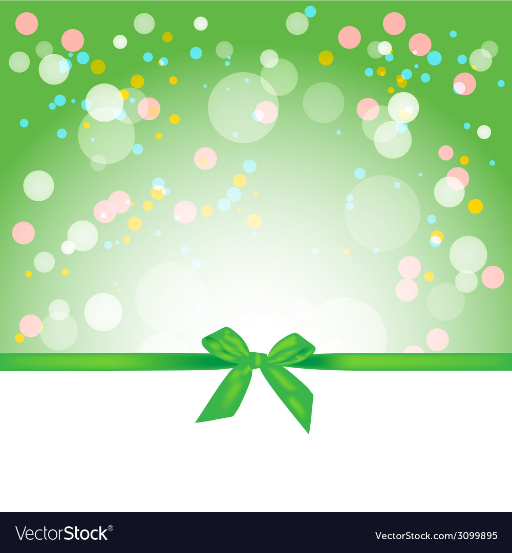 Abstract spring background gift card vector | Price: 1 Credit (USD $1)