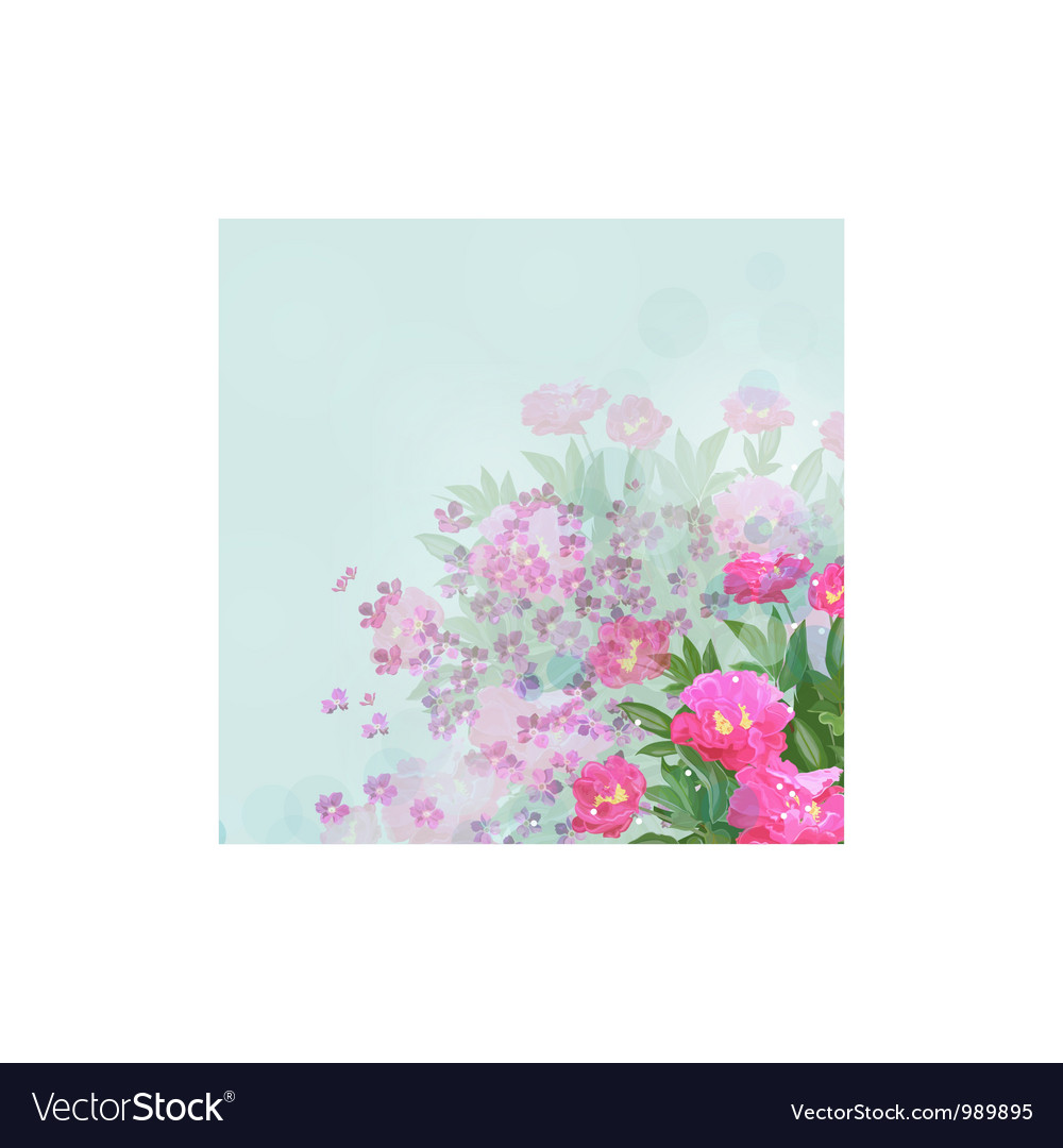 Flower of happiness vector | Price: 1 Credit (USD $1)
