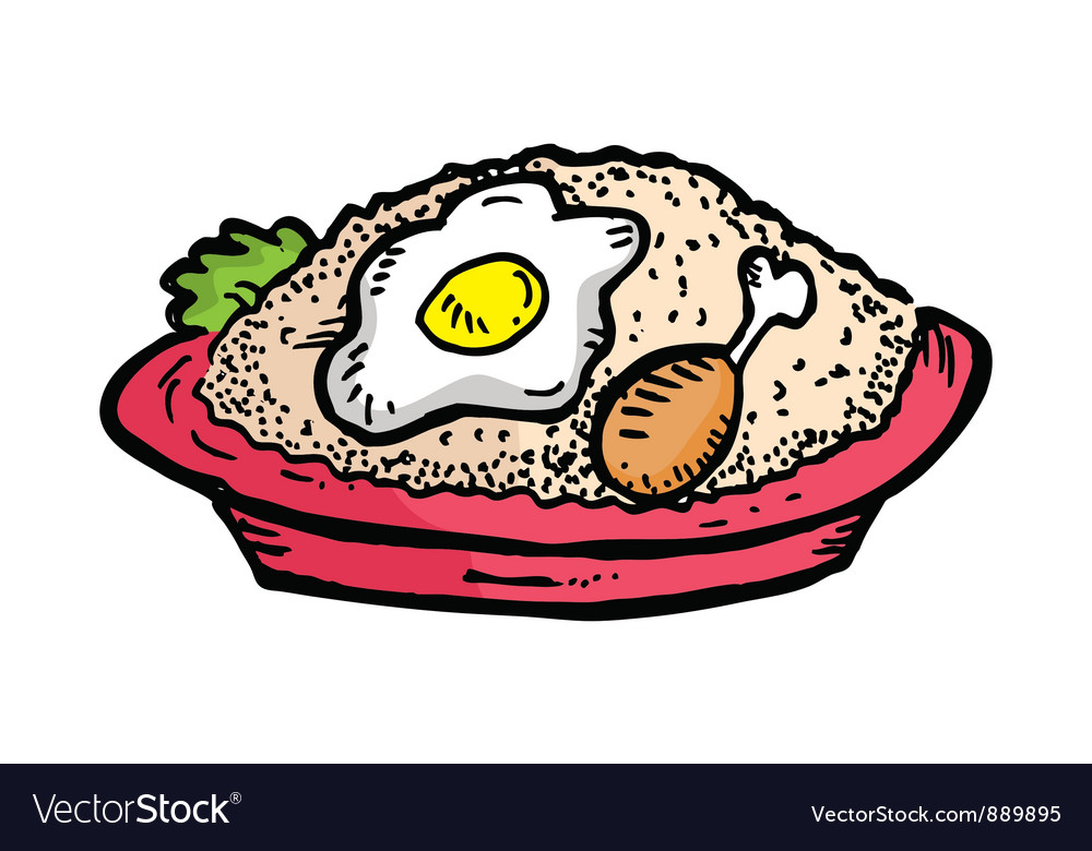 Fried rice vector   Price: 1 Credit (USD $1)