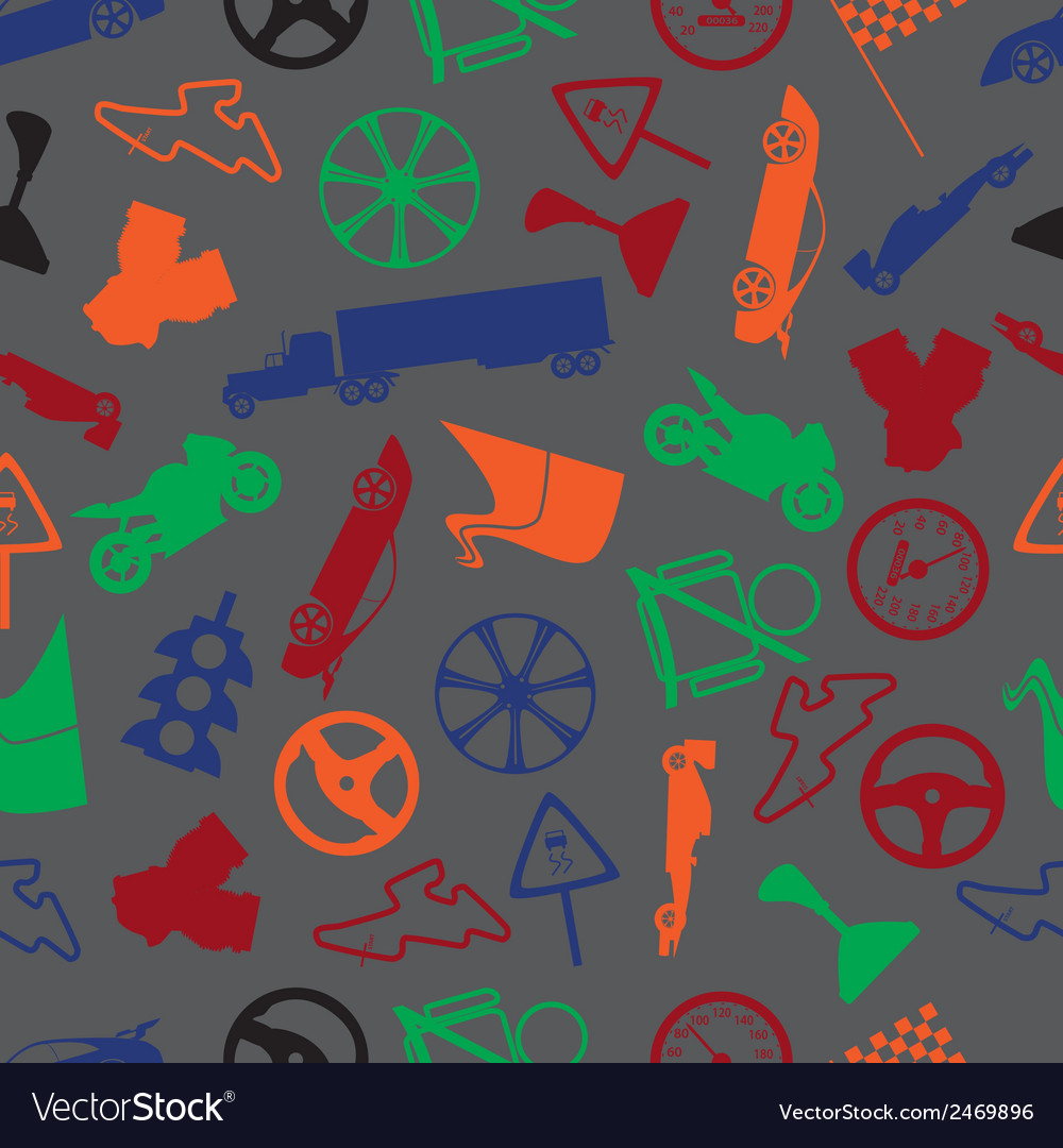Automotive colorful pattern eps10 vector | Price: 1 Credit (USD $1)