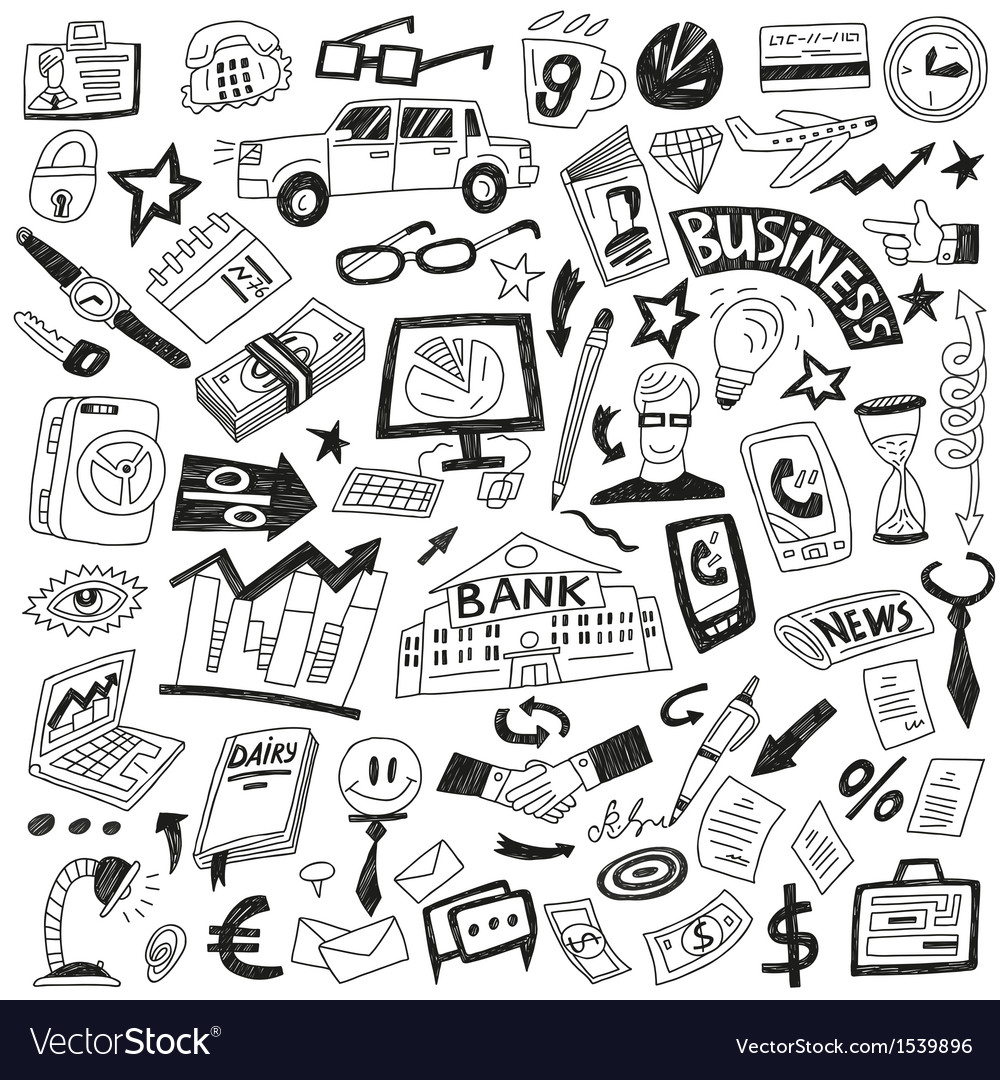 Business - icons collection vector | Price: 1 Credit (USD $1)
