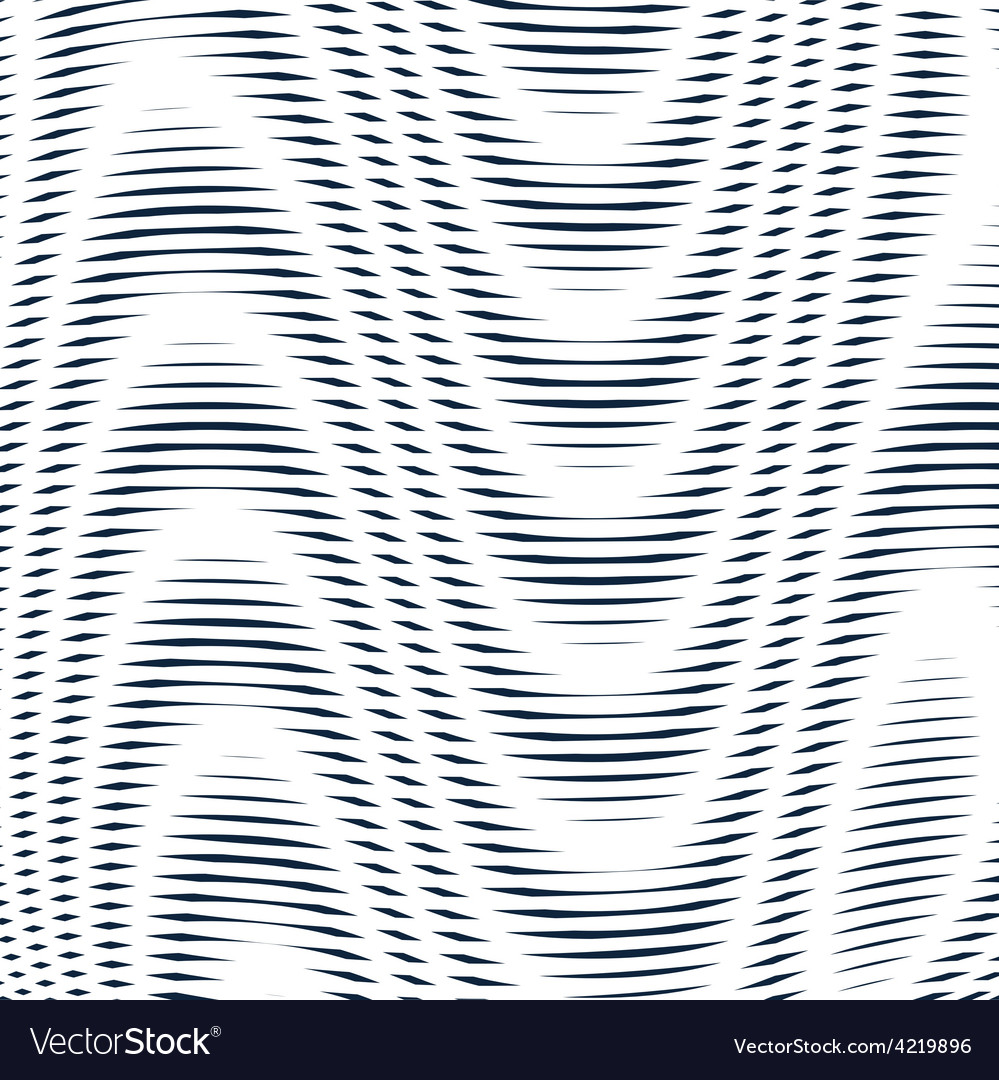 Geometric background created with moire technique vector | Price: 1 Credit (USD $1)