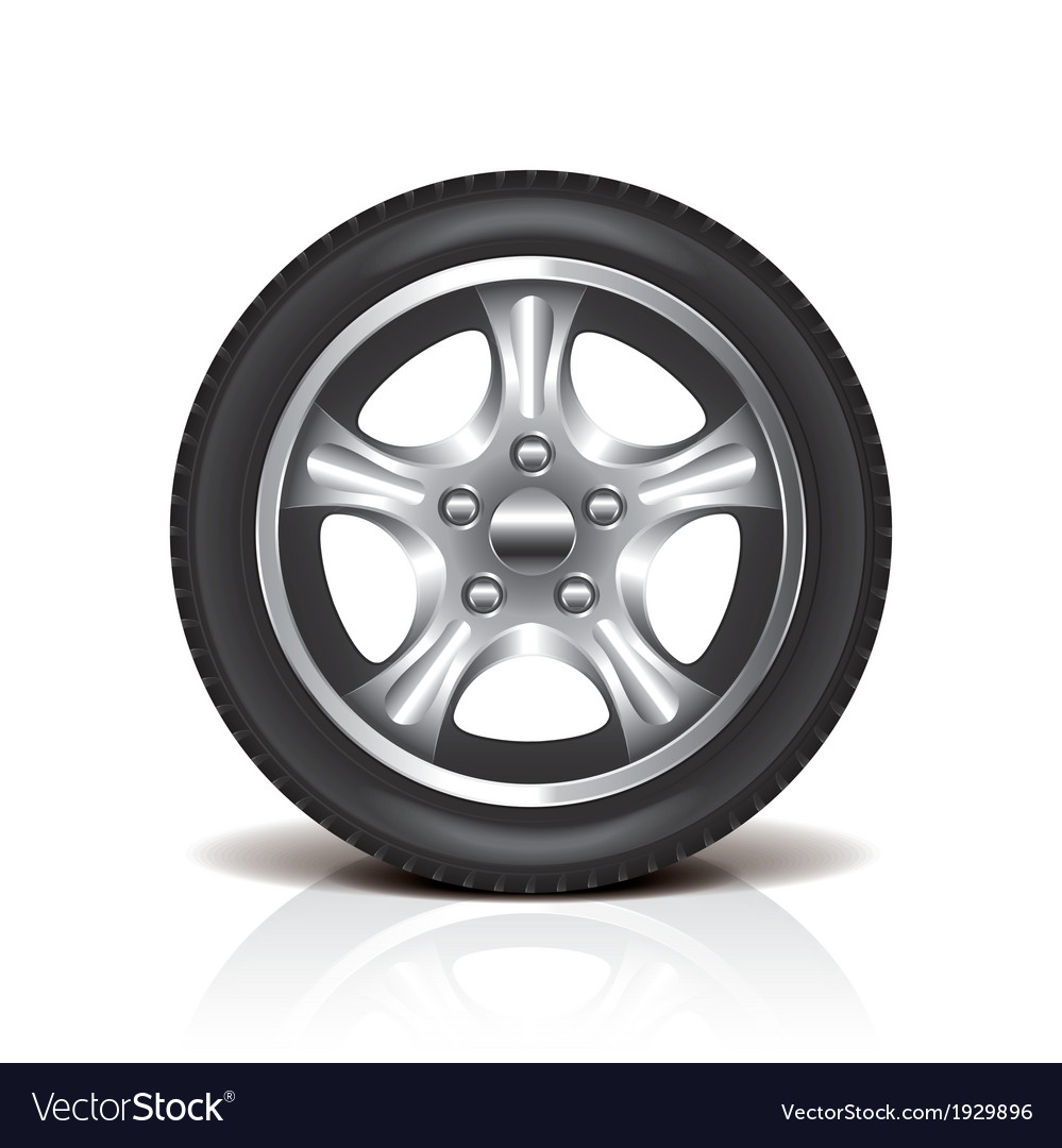 Object tire vector | Price: 1 Credit (USD $1)