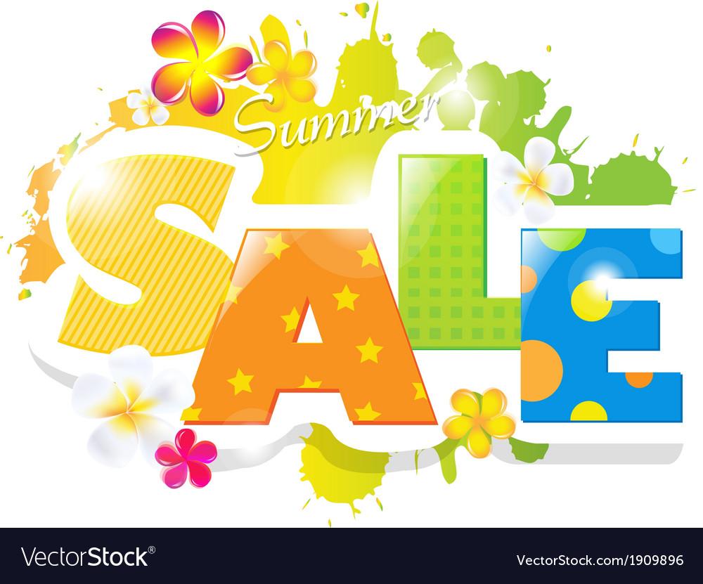 Summer sale design vector   Price: 1 Credit (USD $1)