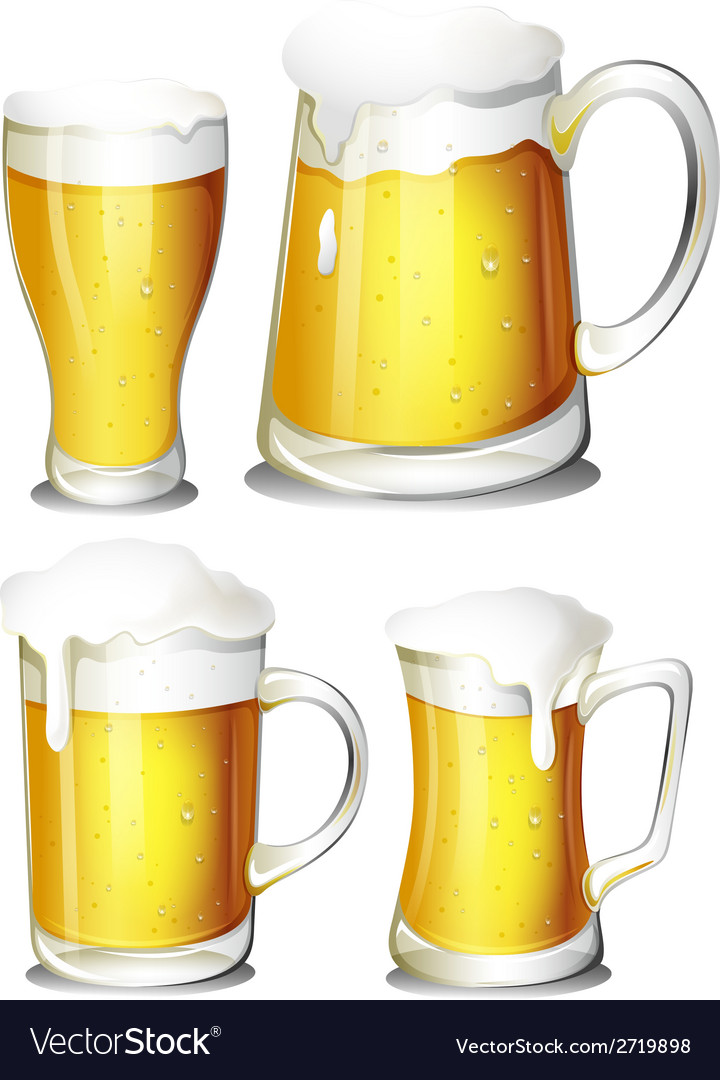 Set of beer vector | Price: 1 Credit (USD $1)