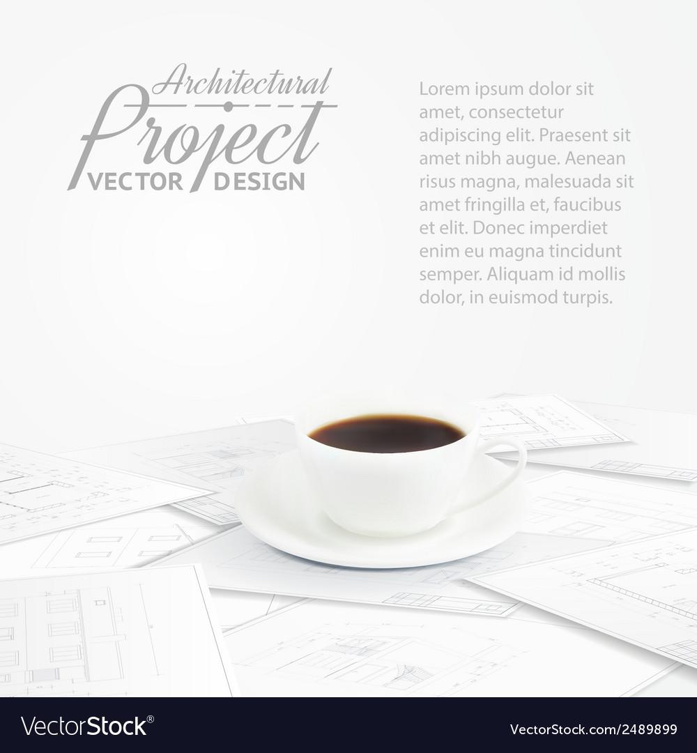 Blueprints sketches vector | Price: 1 Credit (USD $1)