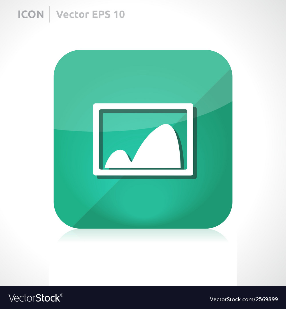 Gallery - pictures icon vector | Price: 1 Credit (USD $1)