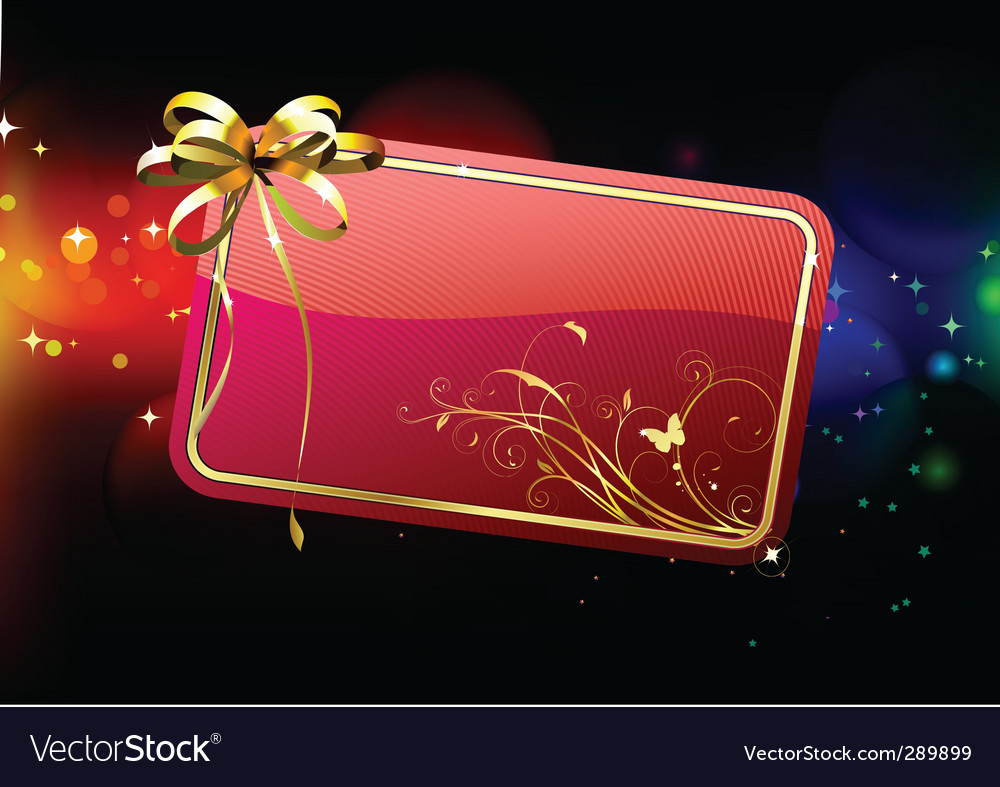 Gift card vector | Price: 3 Credit (USD $3)