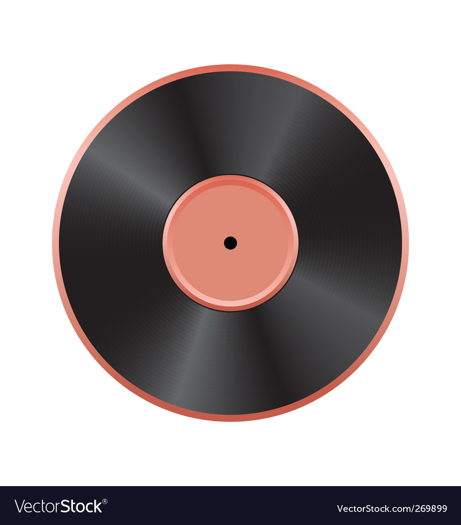 Vinyl disc vector   Price: 1 Credit (USD $1)