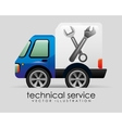 Technical service vector