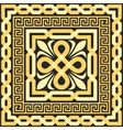 Gold pattern of interlacing lines vector