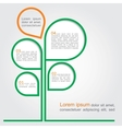Concept tree for different business design vector