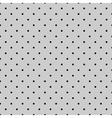 Tile black polka dots on grey background vector