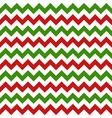 Christmas chevron seamless pattern vector