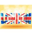 3d london union jack vector