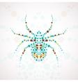 Abstract spider cartoon vector