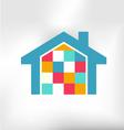 House modern logo vector