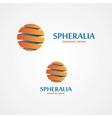 Sphere logo vector