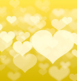Abstract heart background in format vector