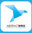 Abstract animal design vector