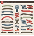 Ribbons pack vector
