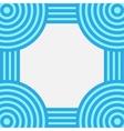 Striped frame vector