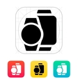 Smart watches different sizes icon vector
