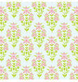 Seamless floral texture background with lily vector
